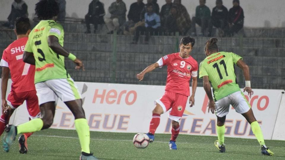I-League: Lajong hold Gokulam to 1-1 draw