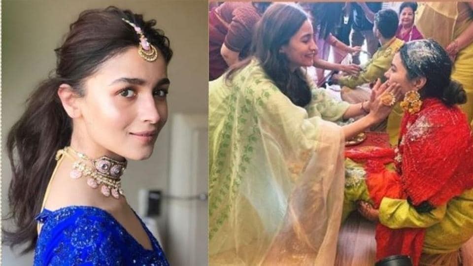 Alia Bhatt Is Having A Ton Of Fun At Friend S Wedding Check Out Her
