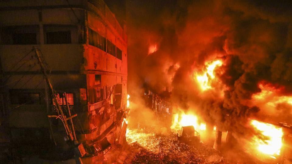 Inferno in Dhaka kills at least 67
