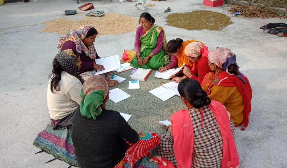Women from a Rampur-based self help group have composed a song to sensitise people about forest and wildlife conservation