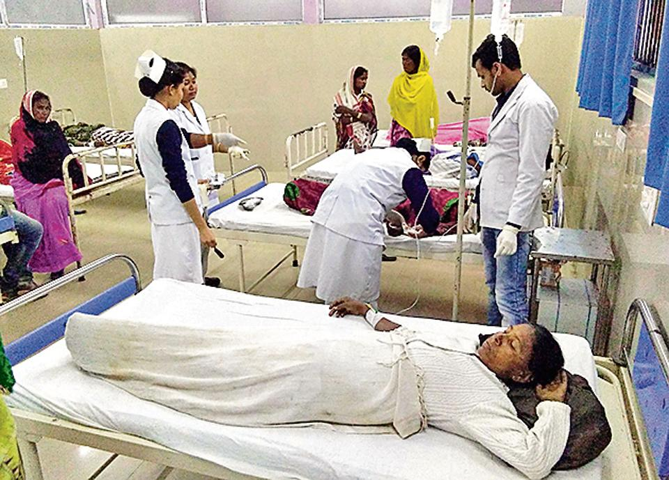 Bootleg alcohol kills 99 and hospitalises 200 on Indian tea plantation