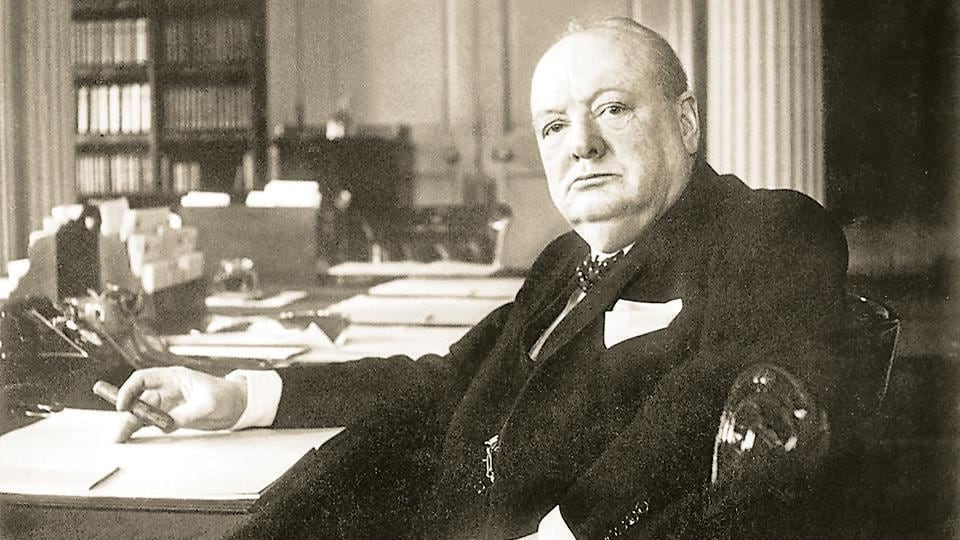 Defender of national freedom at home, upholder of racial oppression abroad — such were the paradoxical politics of Winston Churchill