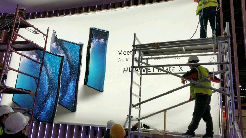 Huawei's foldable phone leaks hours before official launch.