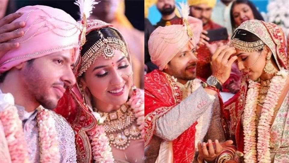 Neeti Mohan and Nihar Pandya tied the knot on February 15 in Hyderabad.