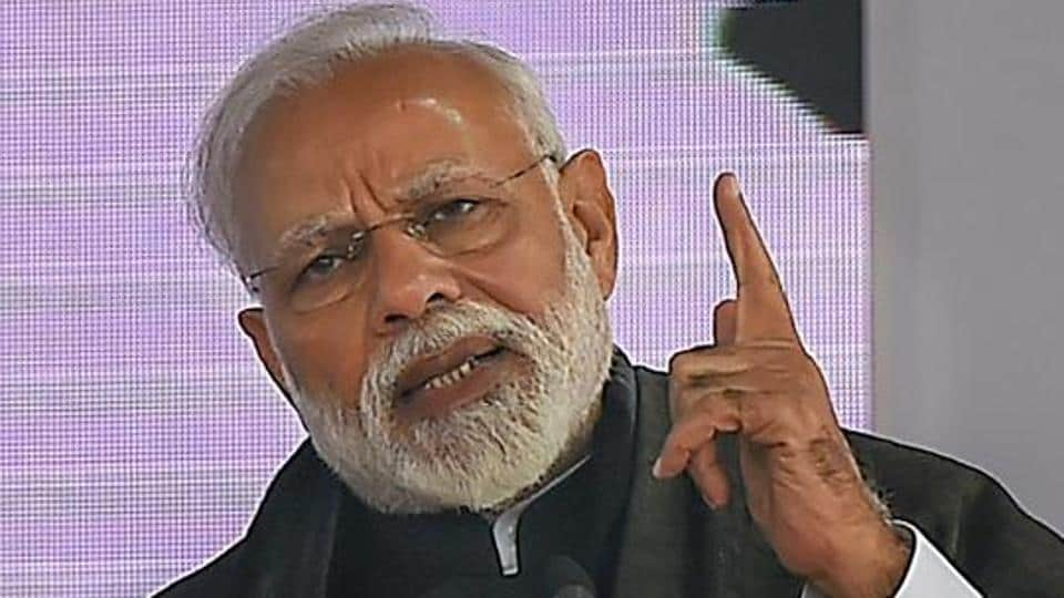 """Reforms in the last four and half years have changed the picture. """"Change is clearly visible today,"""" PMModi said."""
