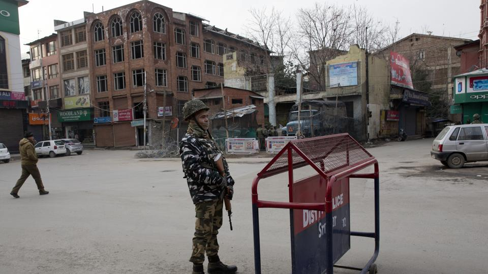 There has been a considerable build-up of security forces across Jammu and Kashmir after reg February 14 terror attack in Pulwama which killed 40 CRPF troopers.