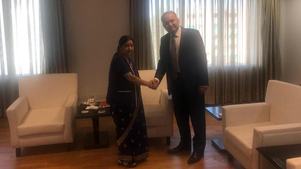 A Hindu parliamentarian from Pakistan, Ramesh Kumar Vankwani, on Saturday met Prime Minister Narendra Modi, external affairs minister Sushma Swaraj and junior external affairs minister VK Singh on the sidelines of an event, according to people familiar with the developments.