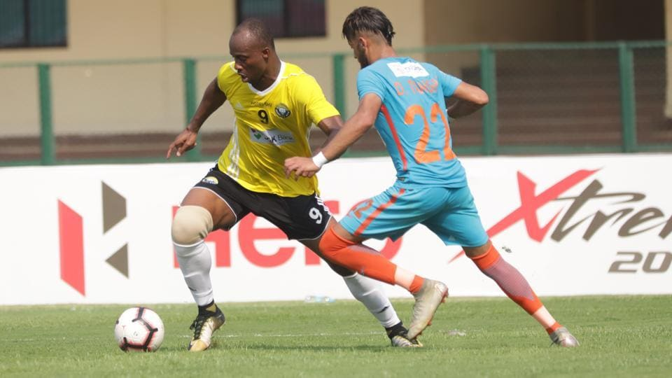 Real Kashmir draw 2-2 with Indian Arrows in I-League   football