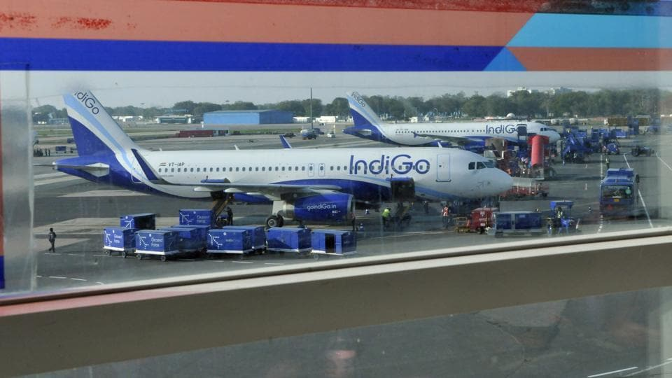 IndiGo said the Air India employee received minor injuries in the incident.