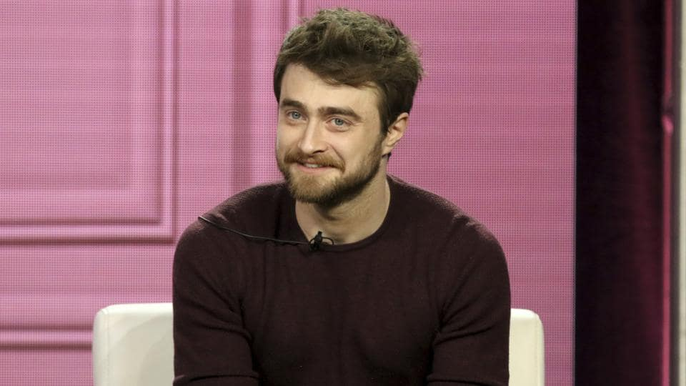 Daniel Radcliffe participates in the Miracle Workers panel during the TBS presentation at the Television Critics Association Winter Press Tour.