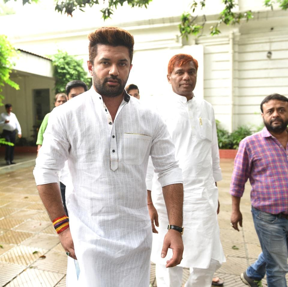 Chirag Paswan is leading the party from the front, taking deft decisions and representing Lok Janshakti Party (LJP) at crucial meetings both in and out of the parliament while elder Paswan mentors him from behind.