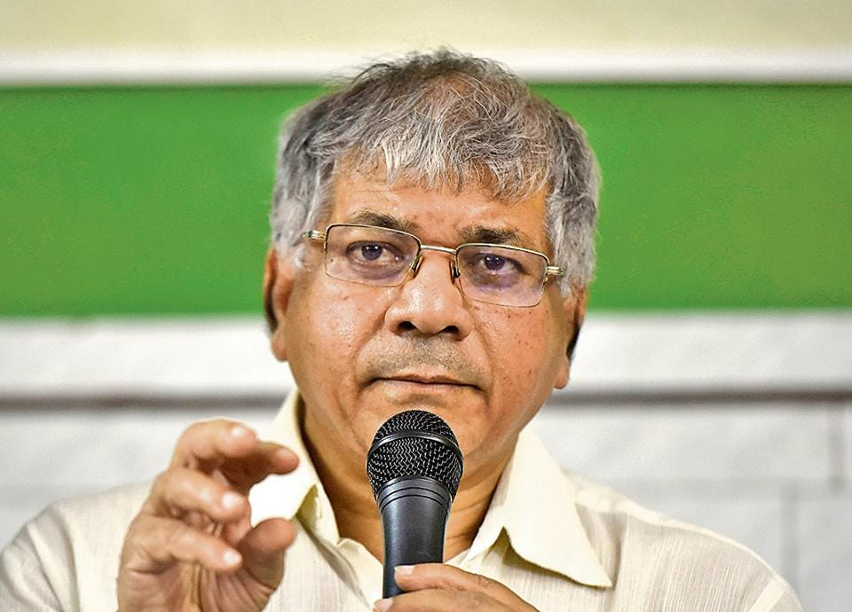 Prakash Ambedkar,Bharip Bahujan Mahasangh,Congress-NCP