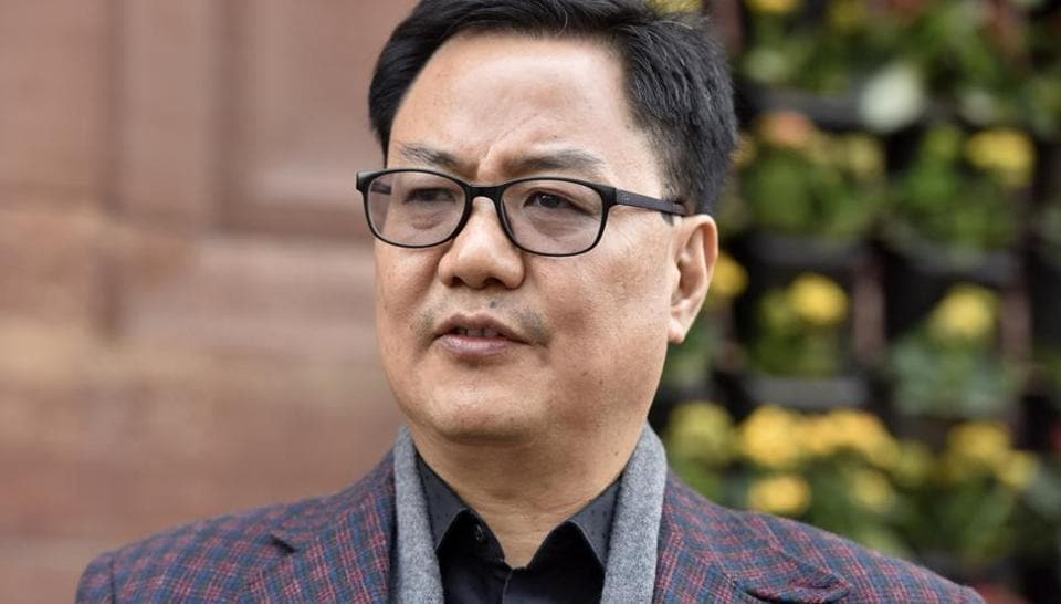 """Rijiju alleged that the Congress has supported and """"instigated"""" non-Arunachal Pradesh STs in Lekang area to fight for PRC but in Itanagar """"misguided"""" the innocent people."""