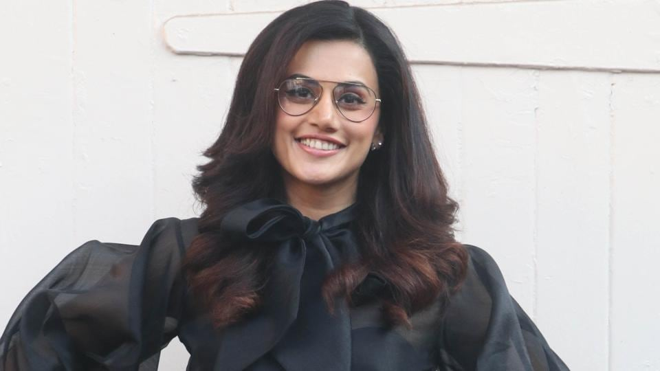 Actor Taapsee Pannu would next seen in the film Badla, alongside Amitabh Bachchan.