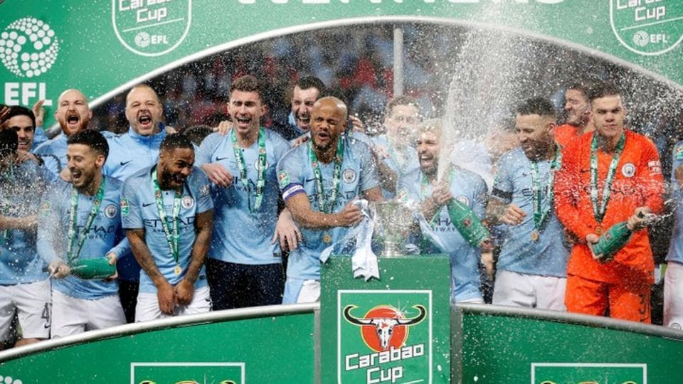 Manchester City edge League Cup final marked by Chelsea keeper mutiny | football