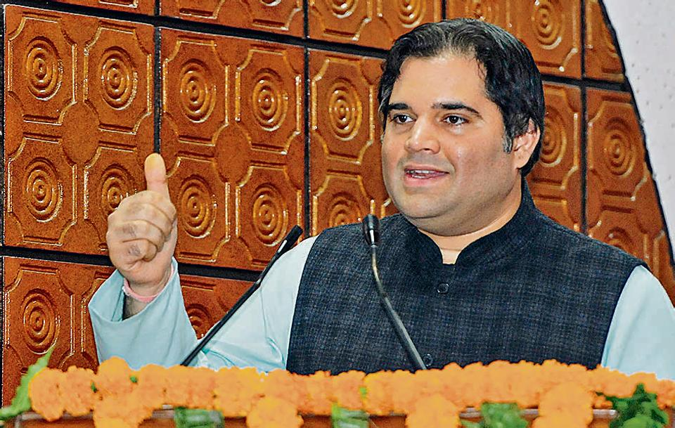 Author and UP Sultanpur MP Varun Gandhi.