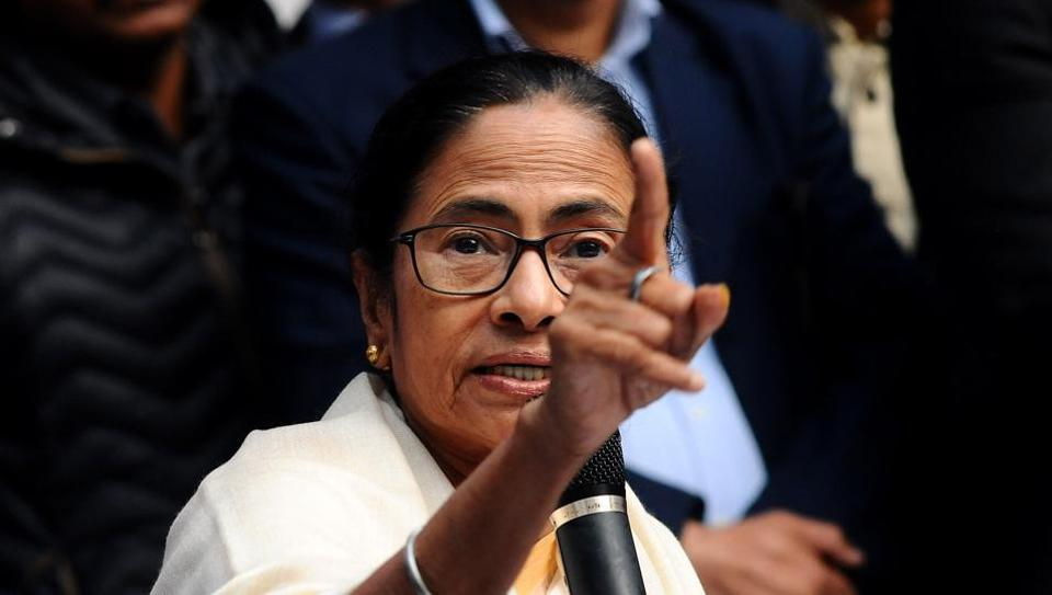 Chief Minister of West Bengal Mamata Banerjee during a press conference at Press Club of India, in New Delhi, on Thursday, Feb. 14, 2019.