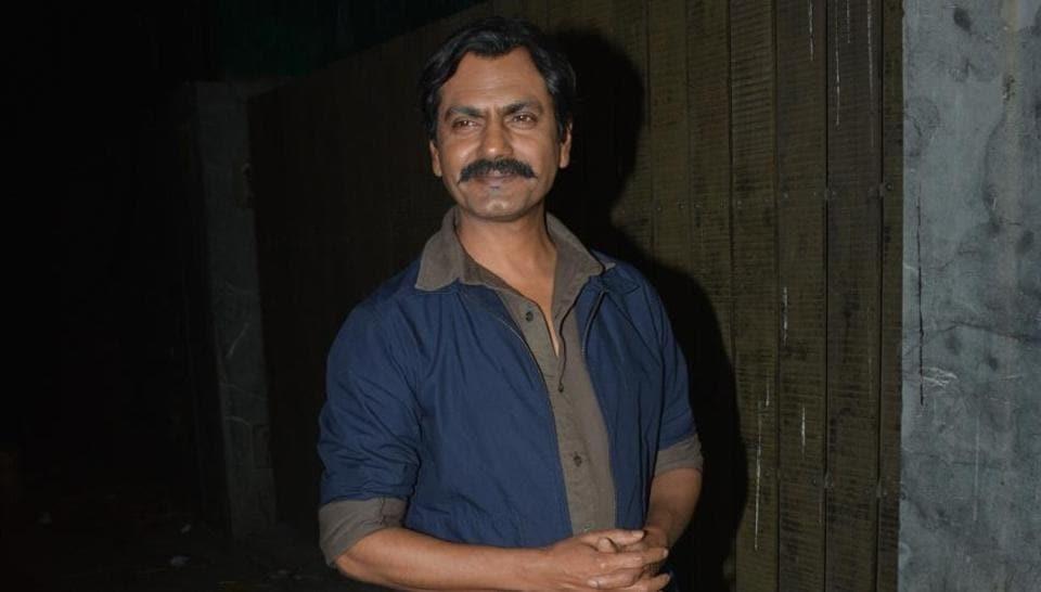 Actor Nawazuddin Siddiqui at the screening of his upcoming film Thackeray in Mumbai on Jan 24, 2019.