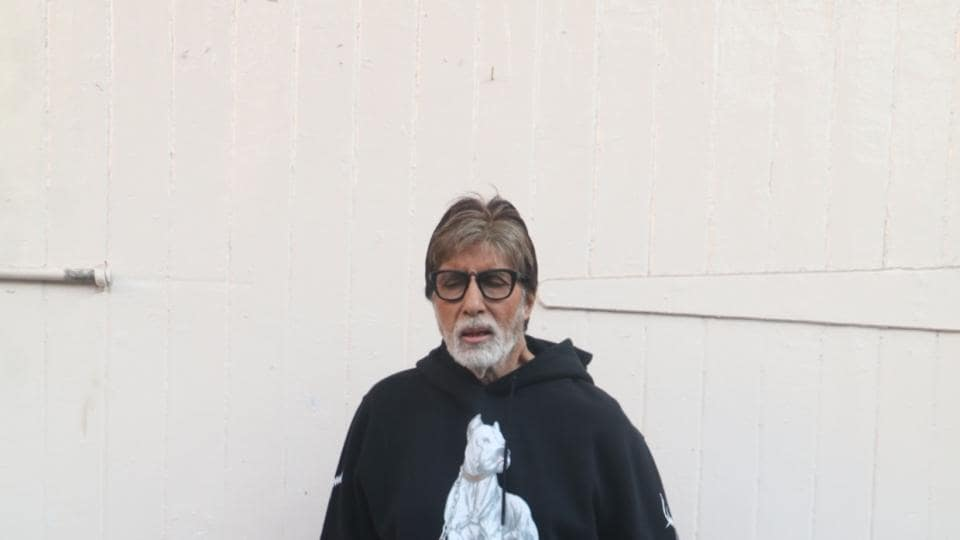 Amitabh Bachchan is gearing up for the release of his next, Badla.