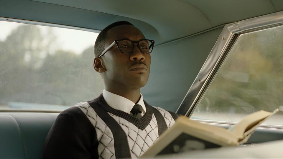This image released by Universal Pictures shows Mahershala Ali in a scene from Green Book.