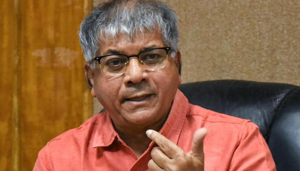 Prakash Ambedkar is holding his cards close to his chest by not yet closing the doors to the Congress.