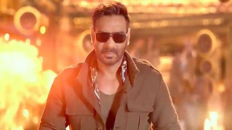 Ajay Devgn in a still from Total Dhamaal.