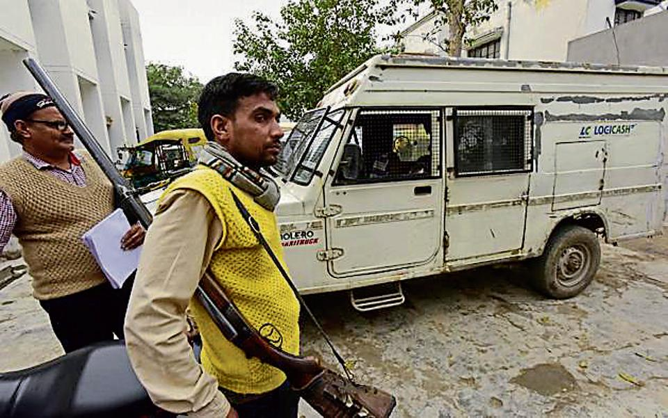 On February 19, two suspects had looted Rs 40 lakh from a cash van  in Noida. While one was arrested, the other was on the run.