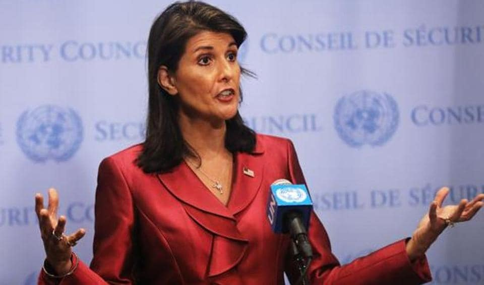 Haley, who had stepped down as the US envoy to the UN at the end of last year, has previously strongly criticised Pakistan for continuing to harbour terrorists that turn around and kill American soldiers while taking billions of dollars in foreign aid from the US.