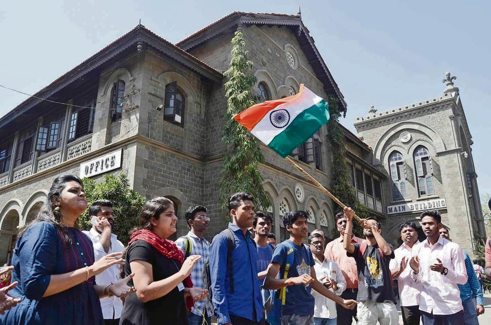 People chanted nationalist slogans and congratulated the defence forces for carrying out bold attacks on the enemy soil.