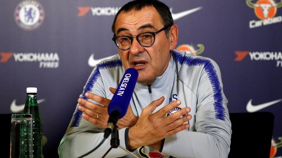 Maurizio Sarri,Kepa Arrizabalaga,Chelsea manager