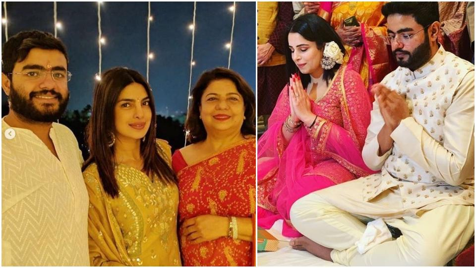 Priyanka Chopra Jonas' brother Siddharth Chopra is ENGAGED - view Roka pics here