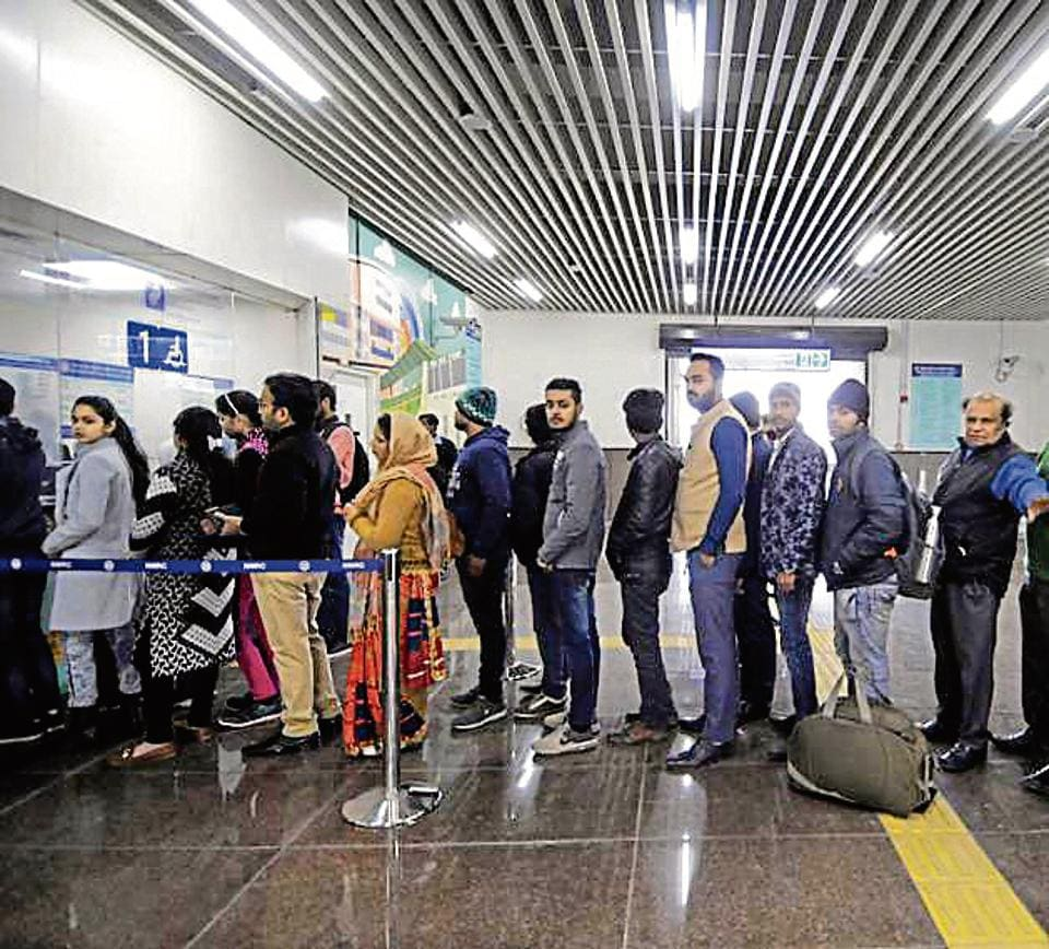 The Aqua Line of the Noida Metro was opened to public on January 25, and has recorded an average ridership of 10,458 passengers daily in its first month of operations, the NMRC data stated.
