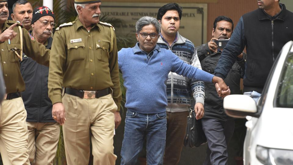 AgustaWestland accused Rajiv Saxena moves court to become approver. (Photo by Sanchit Khanna/ Hindustan Times)