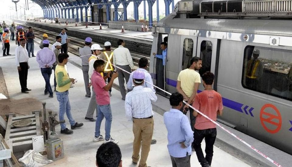 A red alert was sounded for Delhi Metro on Wednesday