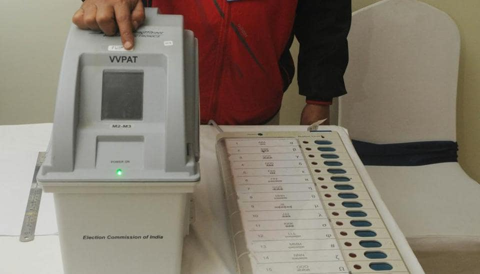 election commission of india,VVPAT,EVM