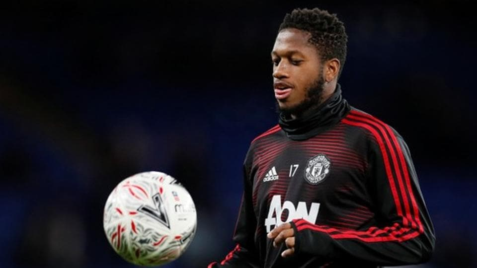File image of Manchester United midfielder Fred.