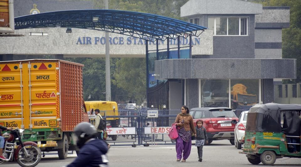 Security,Hindon,airbase