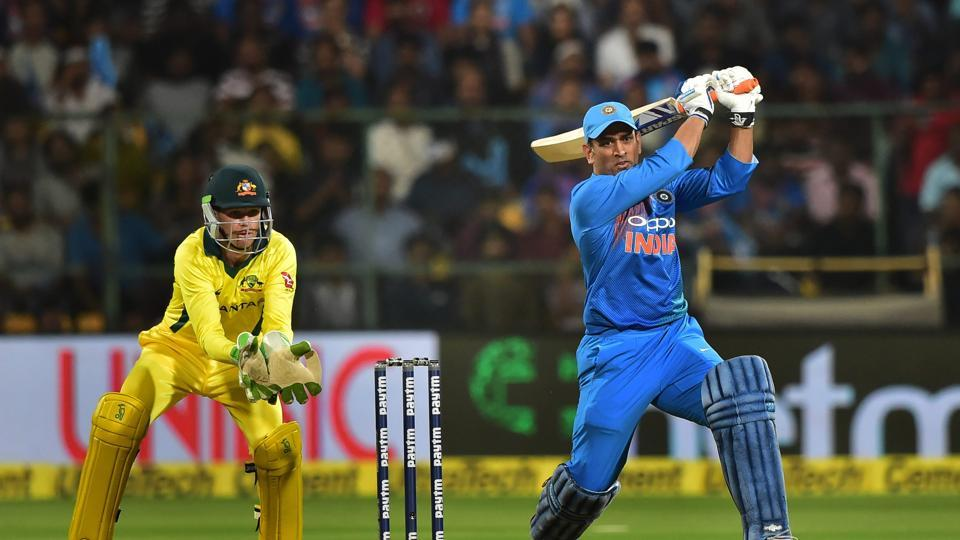 MS Dhoni was at his belligerent best (PTI)