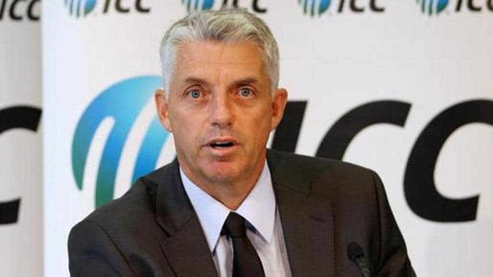 File image of ICC Chief Executive David Richardson.
