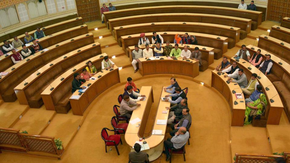 jmc budget,jaipur municipal corporation,bjp