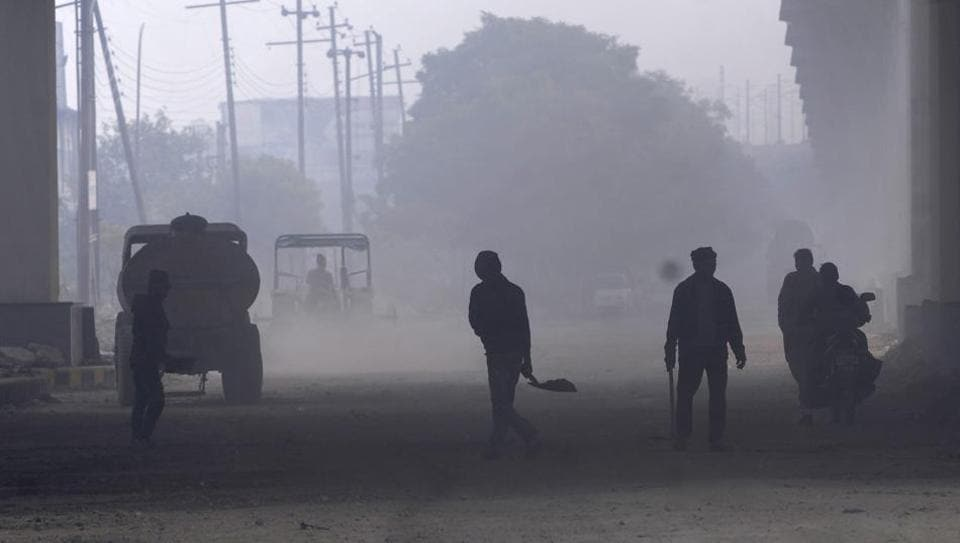 Most complaints in the Noida, which comes second only to Delhi, have been made regarding dust emission from construction sites, followed by open dumping of garbage and dust from unpaved roads and pits.
