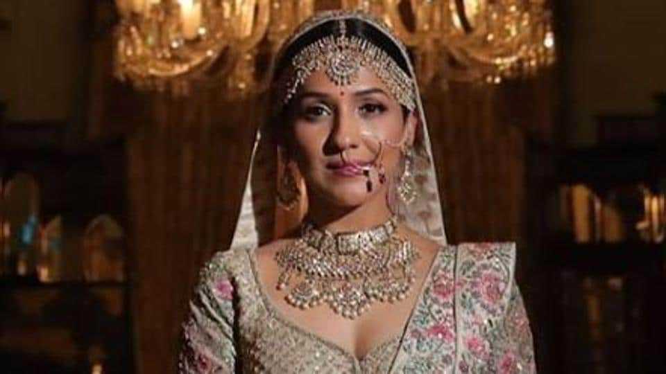 Neeti Mohan shared new pictures from her wedding.