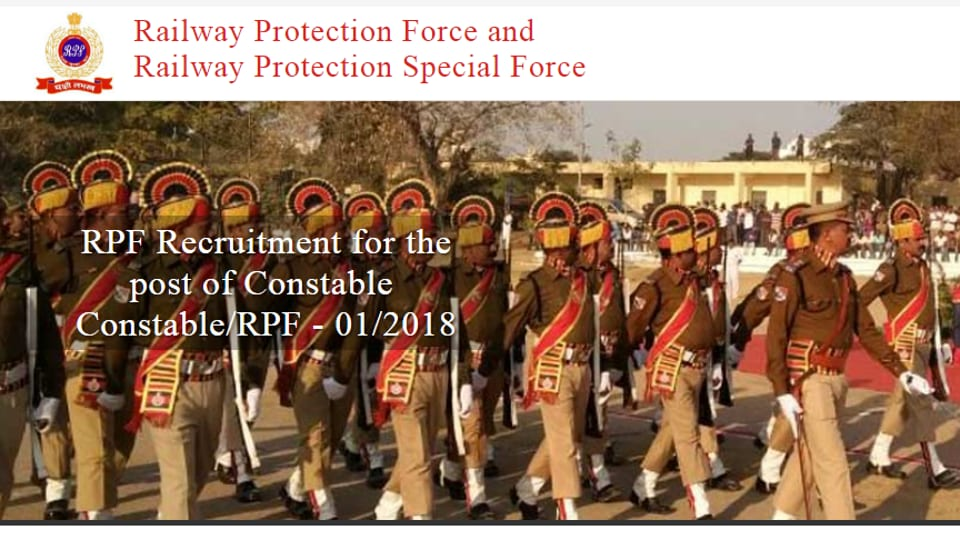 RPF SI, Constable admit card released