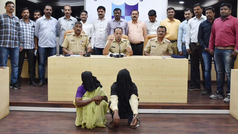 Two people have been arrested by the Pune police on Wednesday, for kidnapping a three-year-old child from Kondhwa.