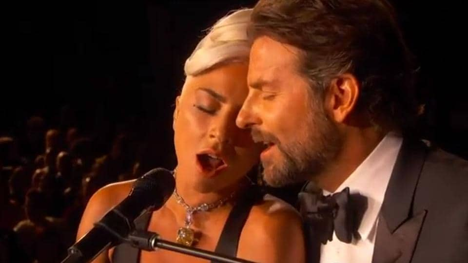 Lady Gaga and Bradley Cooper performed together at the Oscars.