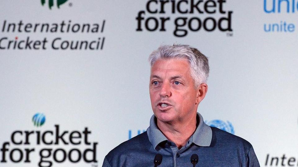ICC CEO Dave Richardson.