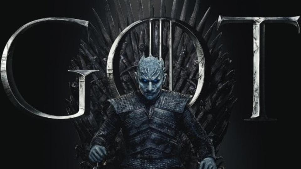 The Night King sits on the Iron Thrones in new Game of Thrones posters.