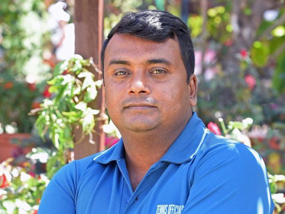 Saikat Roy, tournament refree.