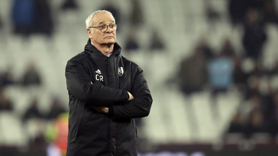 Claudio Ranieri,Fulham,Premier League