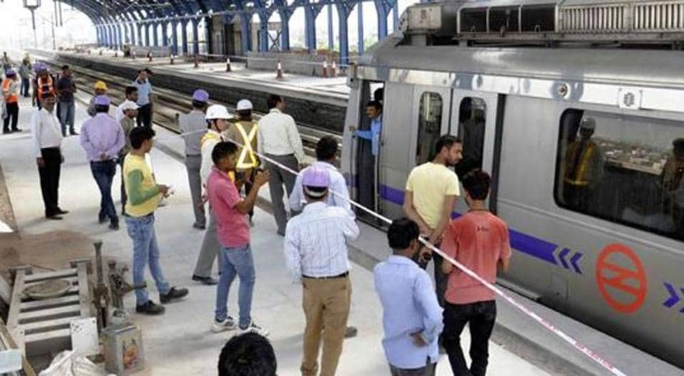 The Central Industrial Security Force (CISF) — the paramilitary force that provides Metro security — will frisk passengers twice before allowing entry to the network. It has also deployed officers in plain clothes at station premises.